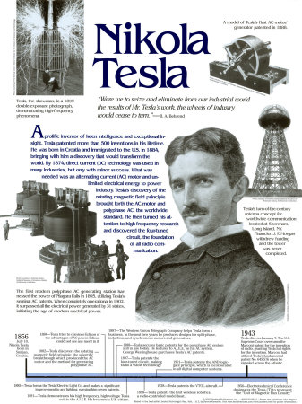 Early Tech Rivalry Between Thomas Edison And Nikola Tesla 171 Nikola Tesla