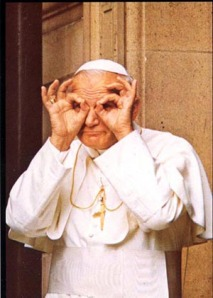 Comic Pope