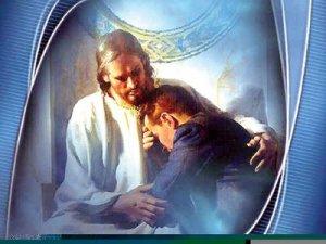 Jesus abrazando