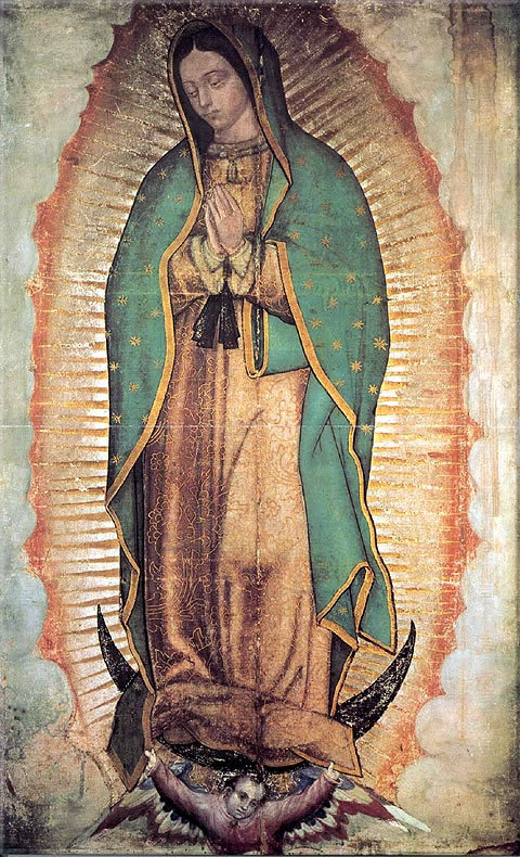 virgen guadalupe: