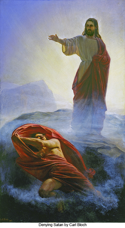 Image result for jesus vs satan