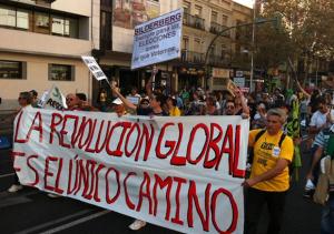 La revolucion global es el unico camino